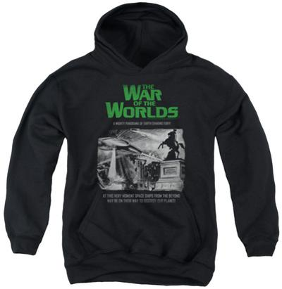 Youth Hoodie: War Of The Worlds - Attack People Poster
