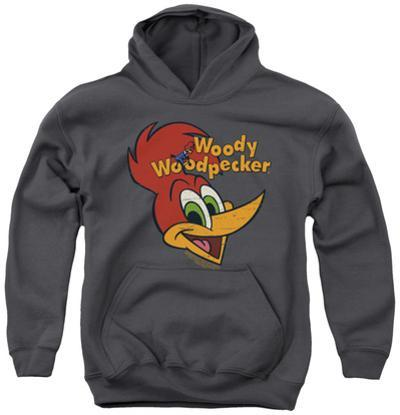 Youth Hoodie: Woody Woodpecker - Retro Logo