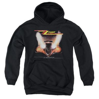 Youth Hoodie: ZZ Top- Eliminator Cover