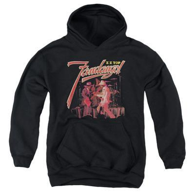Youth Hoodie: ZZ Top- Frandango Stage
