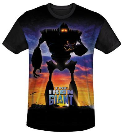 Youth: Iron Giant - Giant Poster(black back)