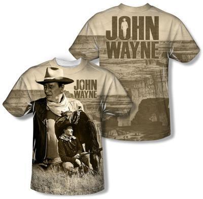 Youth: John Wayne - Stoic Cowboy (Front/Back Print)