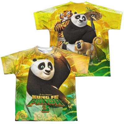 Youth: Kung Fu Panda- Po And Friends (Front/Back)