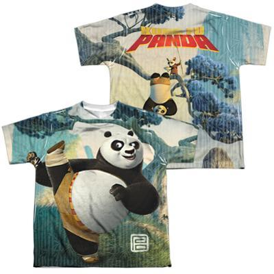 Youth: Kung Fu Panda - Training (Front - Back Print) (Front/Back Print)