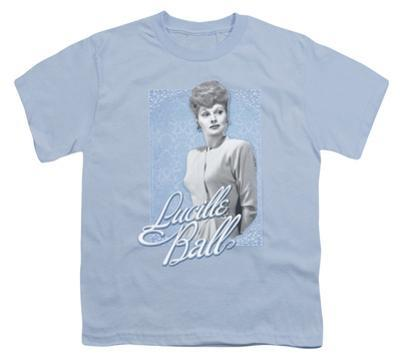 Youth: Lucille Ball - Blue Lace