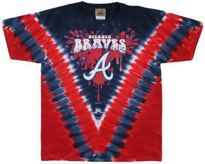 Youth: MLB- BravesThrowback V-Dye
