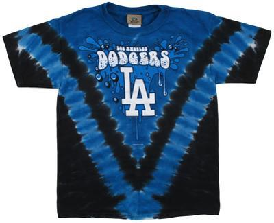 Youth: MLB- DodgersThrowback V-Dye