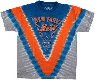 Youth: MLB - Mets  Tie Dye Logo