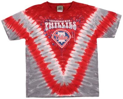 Youth: MLB- PhilliesThrowback V-Dye