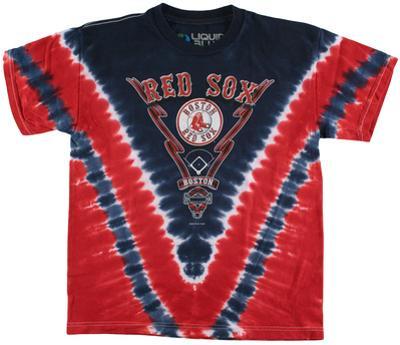 Youth: MLB - Red Sox Tie Dye Logo