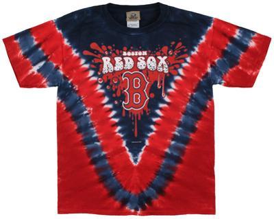 Youth: MLB- Red SoxThrowback V-Dye