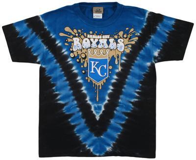 Youth: MLB- RoyalsThrowback V-Dye