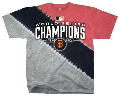 Youth: NFL: San Francisco Giants - 2014 World Series Champions Color Block