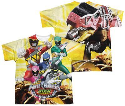 Youth: Power Rangers - Charged For Battle (Front - Back Print)