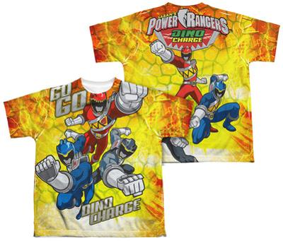 Youth: Power Rangers - Go Go Dino Charge (Front - Back Print)