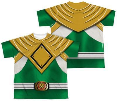 Youth: Power Rangers - Green Ranger (Front/Back Print)