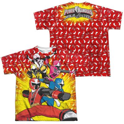 Youth: Power Rangers: Ninja Steel-Go Team Go ((Front/Back)