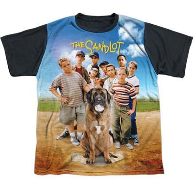 Youth: Sandlot- Sandlot Poster Black Back