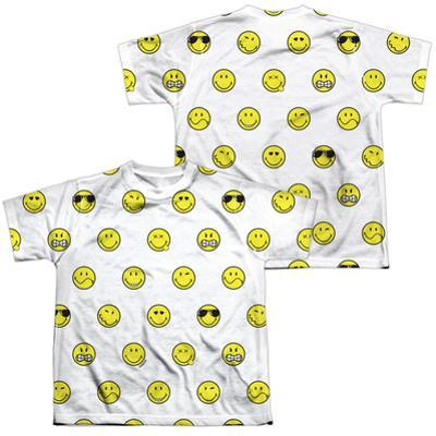 Youth: Smiley World- Smiley Pattern (Front/Back)