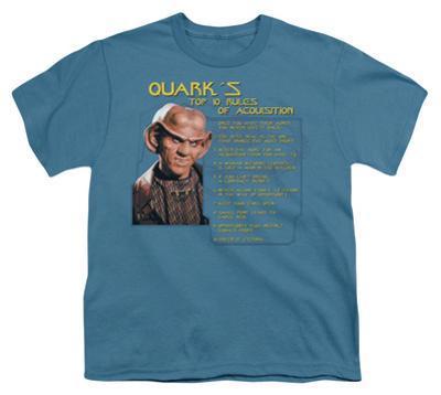 Youth: Star Trek-Quark's Rules