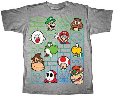 Youth: Super Mario Bros- Cast Wall