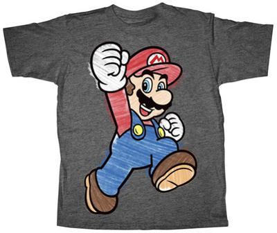 Youth: Super Mario- Crayon Mario