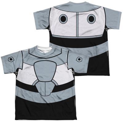 Youth: Teen Titans Go- Cyborg Uniform (Front/Back Print)