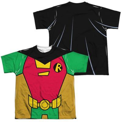 Youth: Teen Titans Go- Robin Uniform (Front/Back Print)
