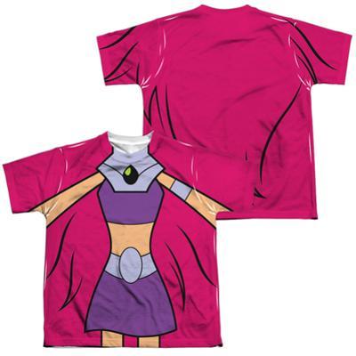 Youth: Teen Titans Go- Starfire Uniform (Front/Back Print)