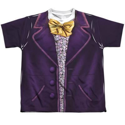 Youth: Willy Wonka And The Chocolate Factory- Wonka Costume Tee