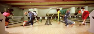 Youths in Bowling Alley, USA