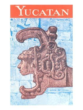 Yucatan Travel Poster