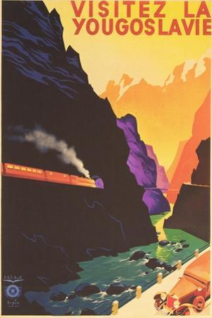 Yugoslavia Travel Poster