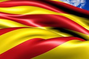 Flag of Catalonia by Yuinai