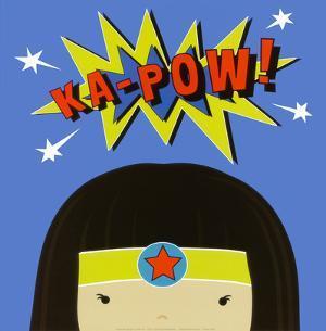 Peek-a-Boo Heroes: Supergirl by Yuko Lau