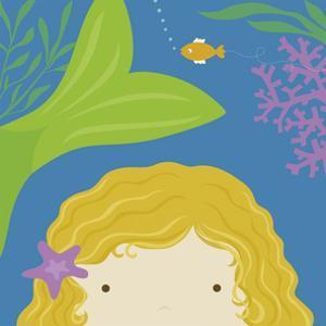 Peek-a-Boo Mermaid by Yuko Lau