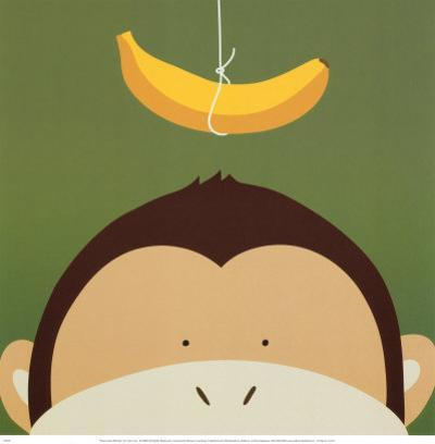 Peek-a-Boo X, Monkey by Yuko Lau