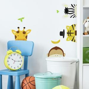 ZOO PEEL AND STICK WALL DECALS by YUKO LAU