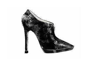 Side View of High Heel Shoe by Yuko Matsubara