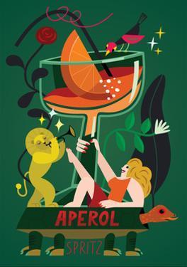 Aperol Spritz, 2017 by Yuliya Drobova