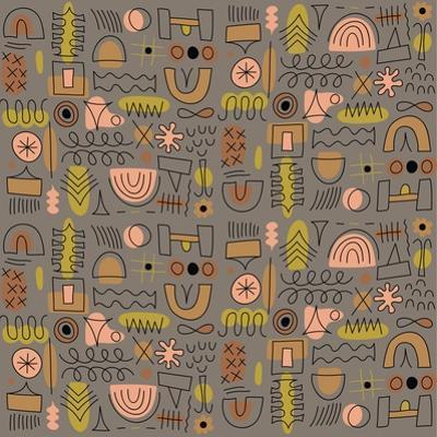 Seamless pattern by Yuliya Drobova