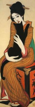The Mistress of Kurofuneya, Japan by Yumeji Takehisa