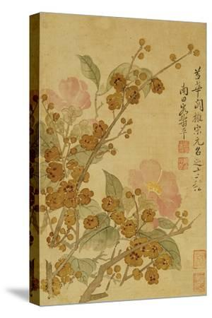 Plum Blossom and Camelias by Yun Shouping