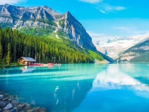 Beautiful Nature of Lake Louise in Banff National Park, Canada by Yunsun_Kim