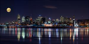 Montreal Night by YuppiDu