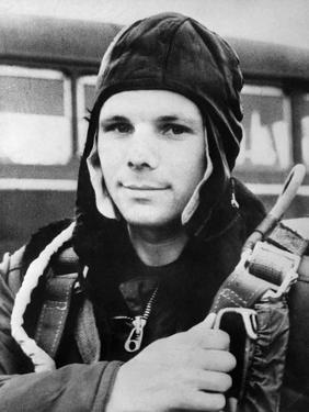 Yuri Gagarin, Russian Cosmonaut, 1961