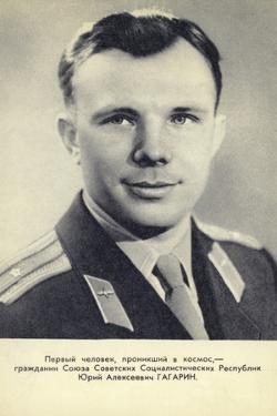 Yuri Gagarin, Soviet Cosmonaut and First Man in Space