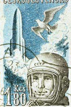 Yuri Gagarin, Soviet Russian Cosmonaut, 1961