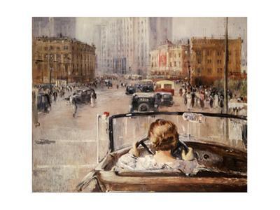 New Moscow by Yuri Ivanovich Pimenov