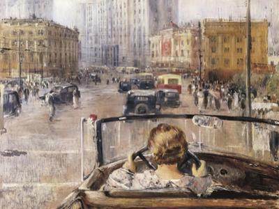 The New Moscow by Yuri Ivanovich Pimenov